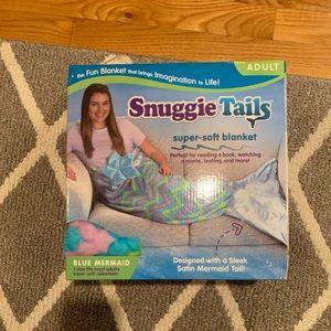 Snuggie mermaid tail